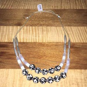 J. Jill Jewelry - J.Jill semi precious adjustable necklace